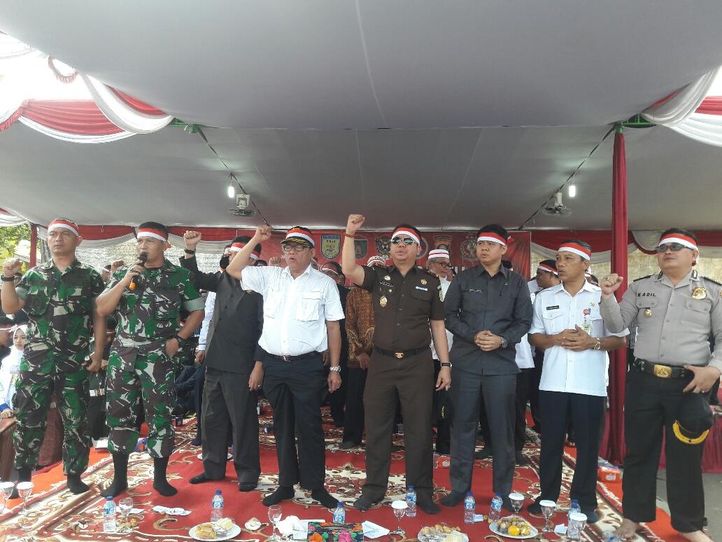 Bupati Bersama Muspida Ajak Bersatu