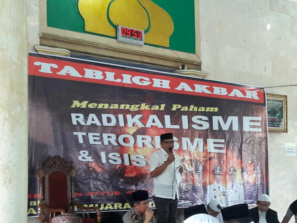 Kewajiban Semua, Tangkal Teroris