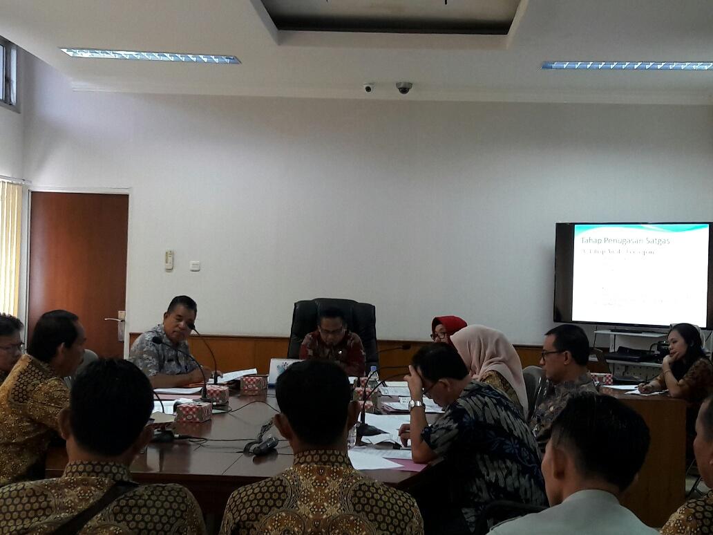 Staf Ahli : Satgas Diisi Perwakilan SKPD