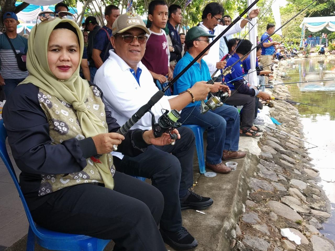 Serunya Muara Enim Fisheries 2019 Berlangsung Meriah
