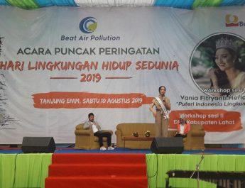 Puteri Indonesia Lingkungan Meriahkan HLHS  PTBA