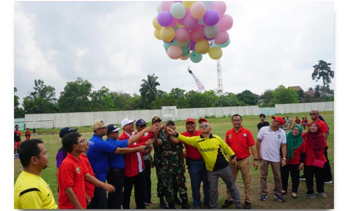 32 Tim Berlaga Di Serasan Soccer League Fest