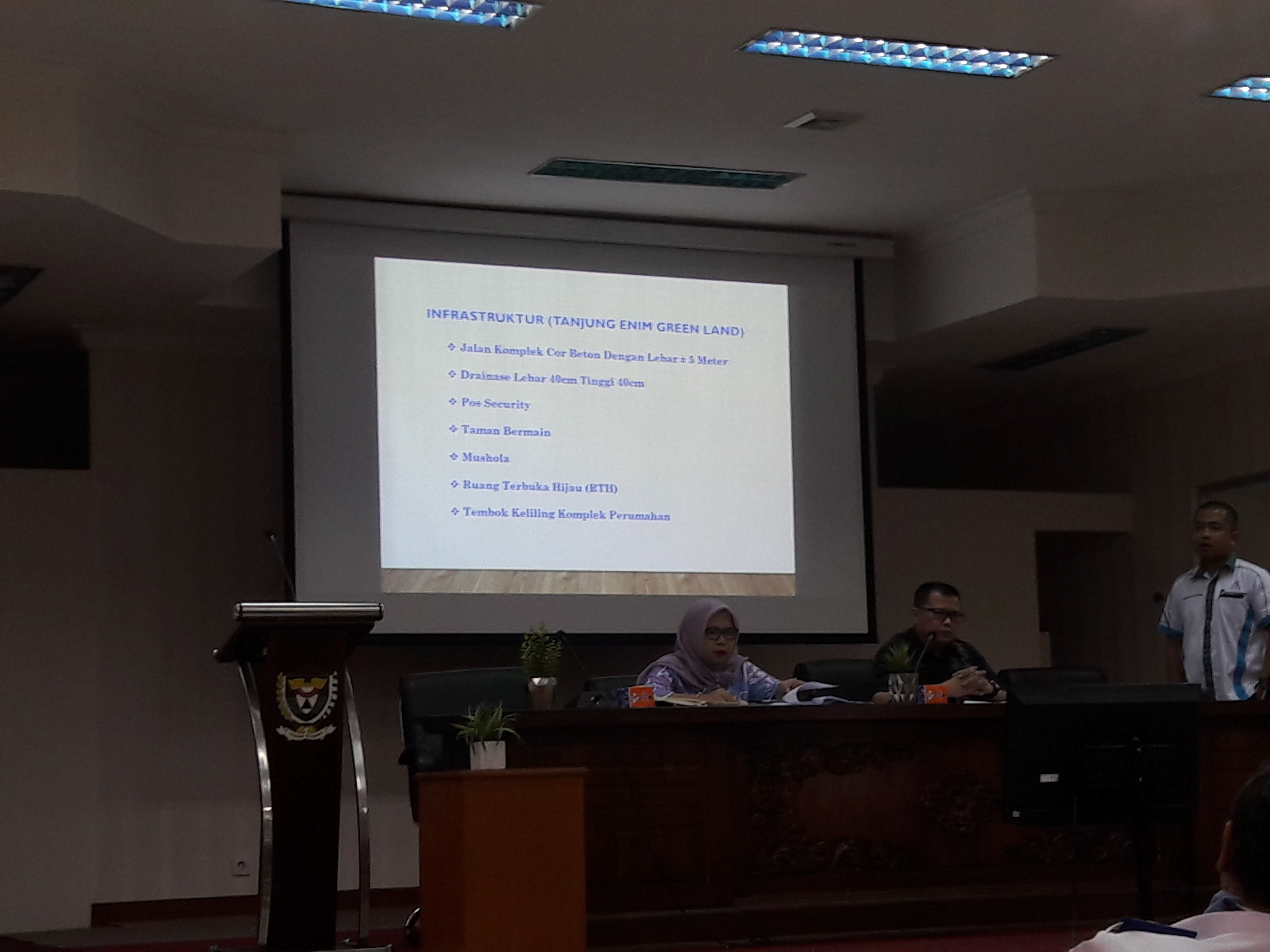 Pemkab Terima Proposal Tanjung Enim Green Land
