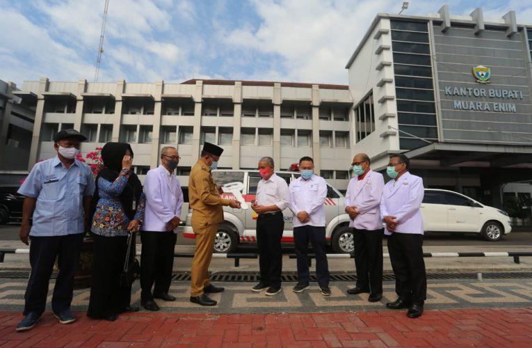 Peduli Kesehatan Masyarakat, PTBA Bantu Ambulance