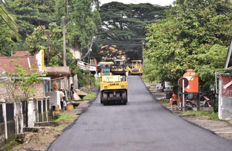 PTBA Hitamkan Jalan Tanjung Enim