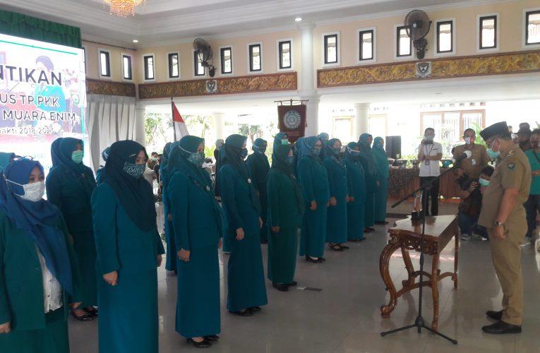 Bupati Lantik Pengurus TP PKK Kabupaten Muara Enim