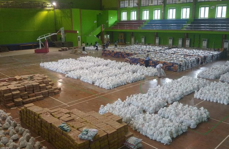 Peringati HUT Ke-40, PTBA Sebar 9000 Paket Sembako