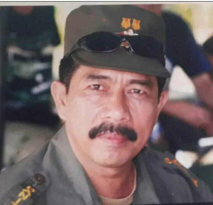 Letkol Infanteri Afsal Gusti Arli  Mantan Dandim 0404 Meninggal