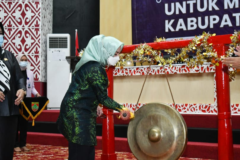 Bupati Launching Bantuan Santunan Kematian Bagi Masyarakat Musi Rawas
