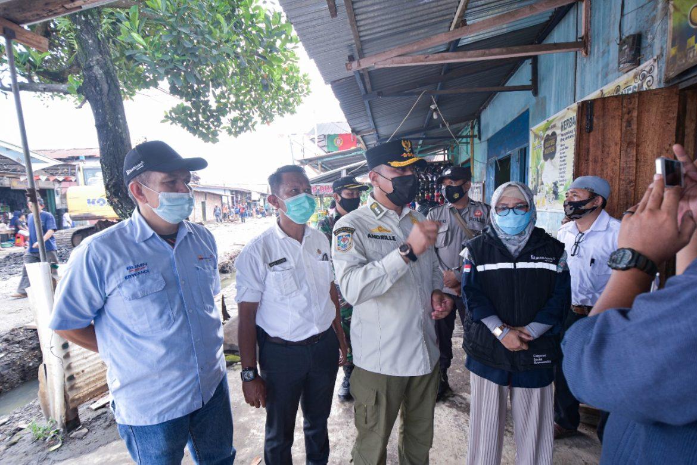 Tanggap Darurat Bukit Asam Bantu Korban Banjir Warga Kelurahan Pasar Tanjung Enim
